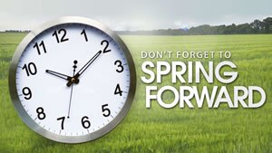 Daylight Savings Time - Spring Forward